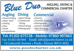 ANGLING, DIVING & COMMERCIAL CHARTER