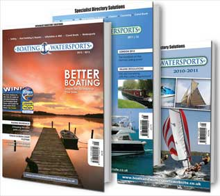 Boats and Watersports Front Covers 2010 to 2013